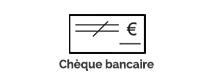 chèque bancaire